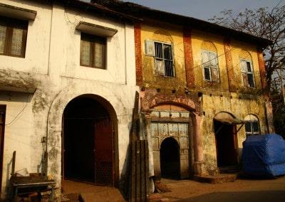 Vieilles maisons à Fort Cochin