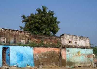 Autour du palais à Tanjore