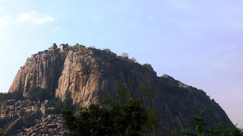 Une magnifique vue du Fort de Gingee (Tamil Nadu)