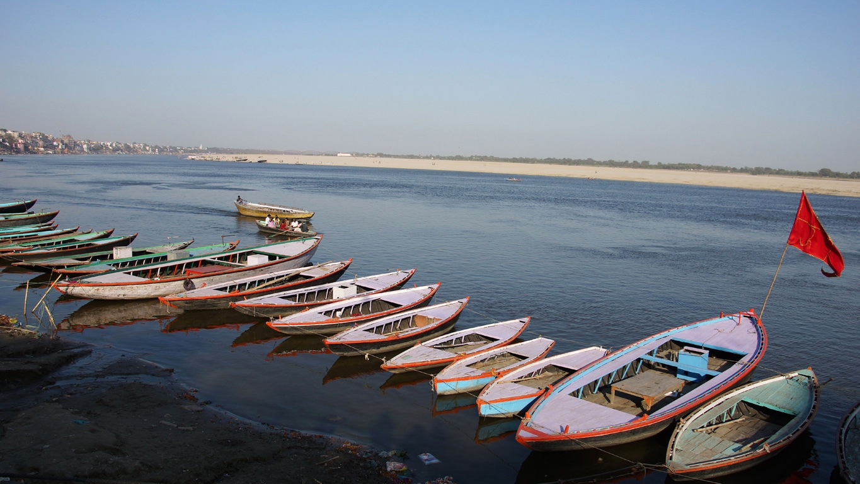 Sur les bords du Gange, à Varanasi (1)