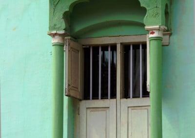 Une fenêtre de village dans la région du Coorg