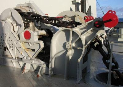 Mécanisme des chaînes d'ancre